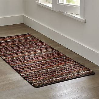 Pinstripe Copper Rug Runner