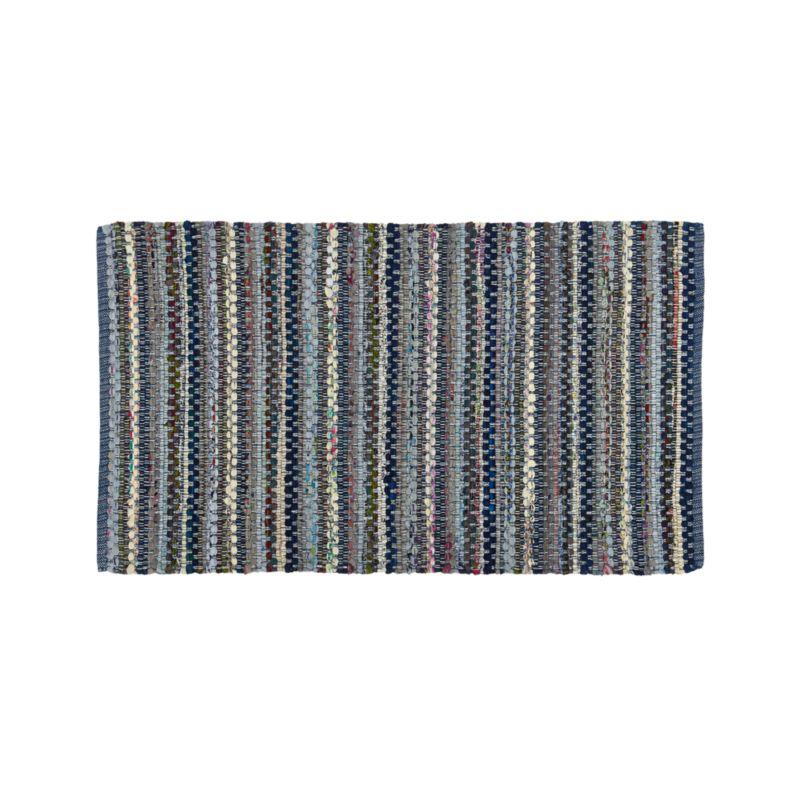 Pinstripe Indigo 30'x50' Rug