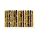 Pinstripe Yellow Cotton 30'x50' Rag Rug