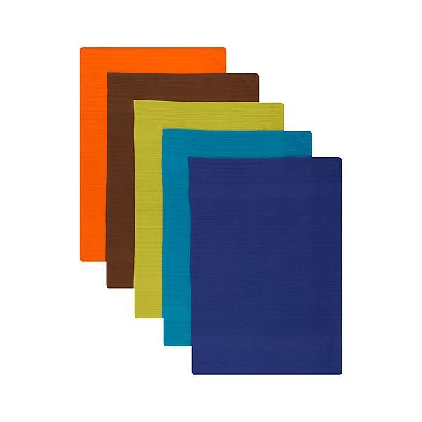Set of 5 Pintura Dishtowels