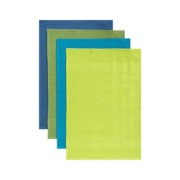 Set of 4 Pintura Dishtowels