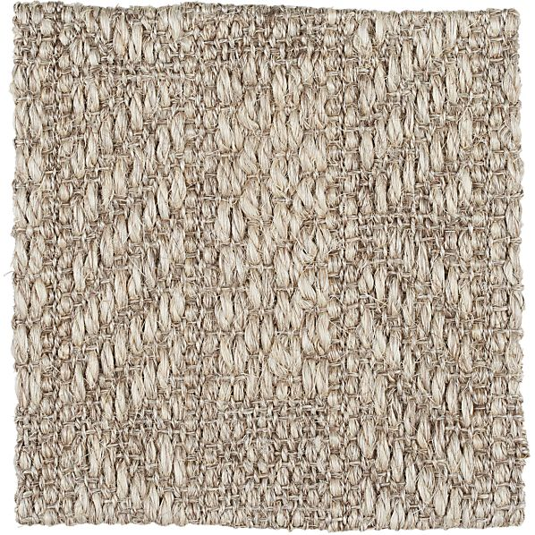 "Piper Linen Sisal 12"" sq. Rug Swatch"