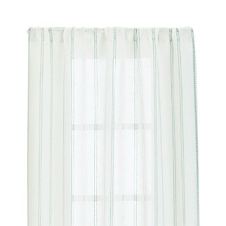 "Pippa Mint 50""x84"" Curtain Panel"