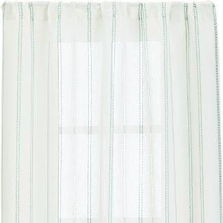 """Pippa Mint 50""""x84"""" Curtain Panel"""