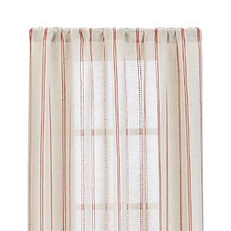 "Pippa Persimmon 50""x84"" Curtain Panel"