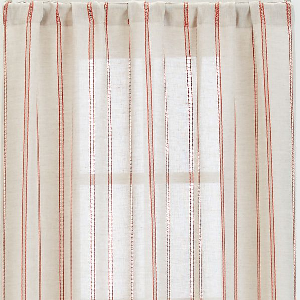 "Pippa Persimmon 50""x96"" Curtain Panel"