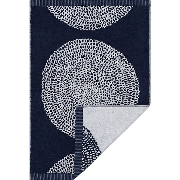 Marimekko Pippurikera Navy Hand Towel