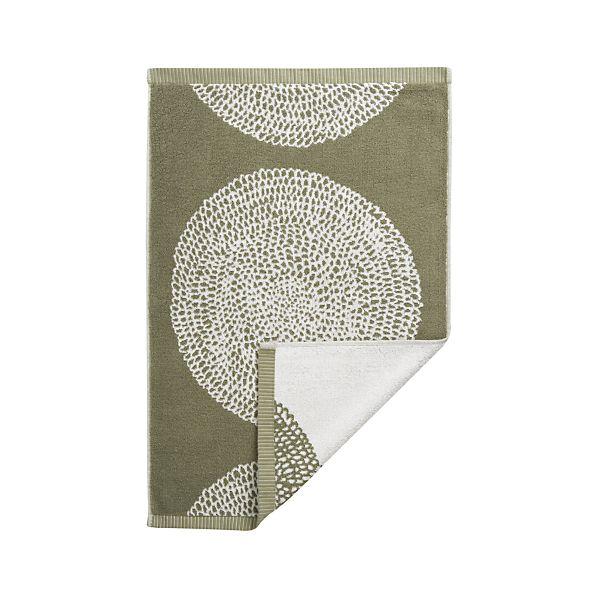 Marimekko Pippurikera Sage Hand Towel
