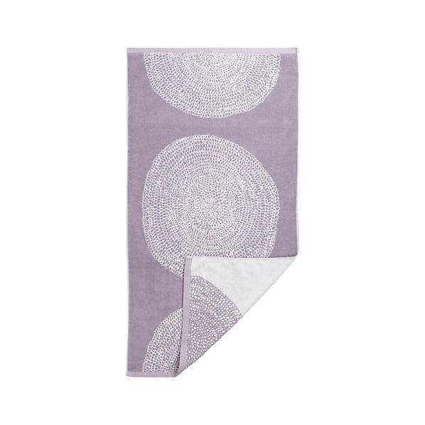 Marimekko Pippurikera Wisteria Bath Towel