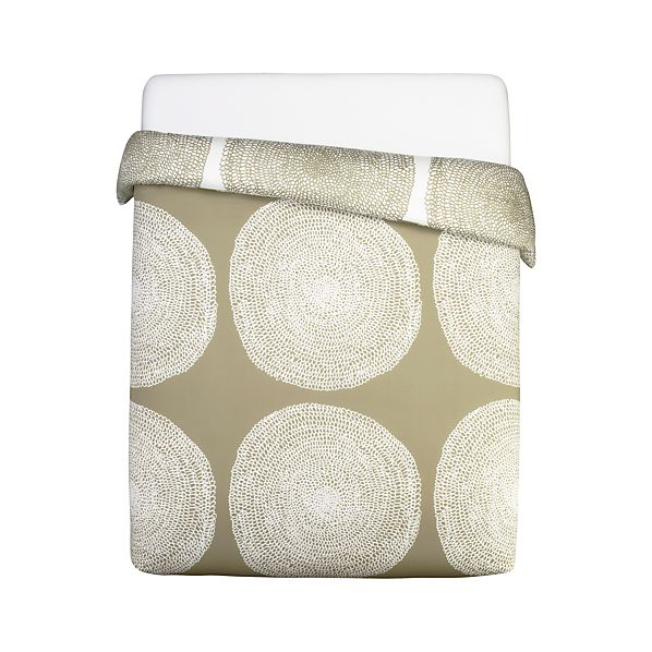 Marimekko Pippurikera Sage King Comforter