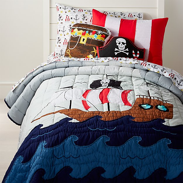 Full Queen Pirate Quilt Reviews Crate And Barrel