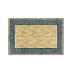 Piven Chevron Wool-Blend 6'x9' Rug