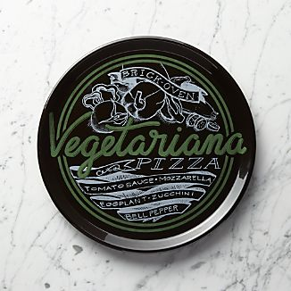 Vegetariana Pizza Plate