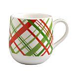Plaid Espresso Cup