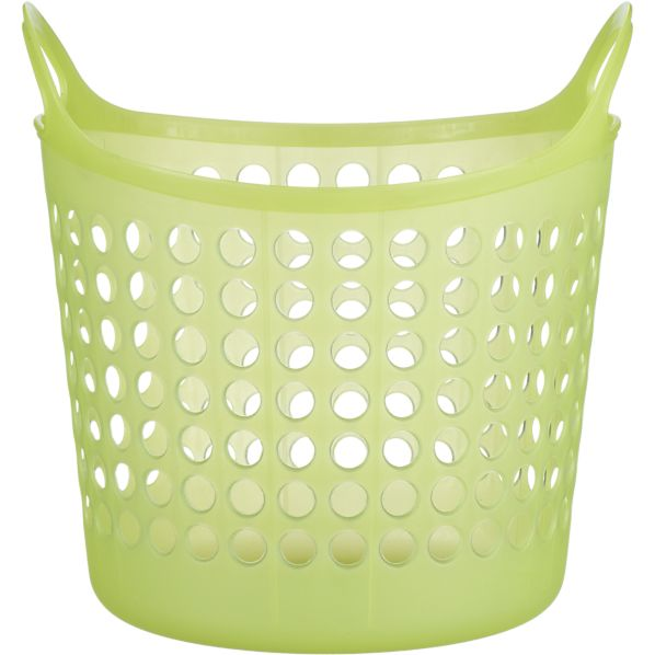 Small Green Plastic Basket