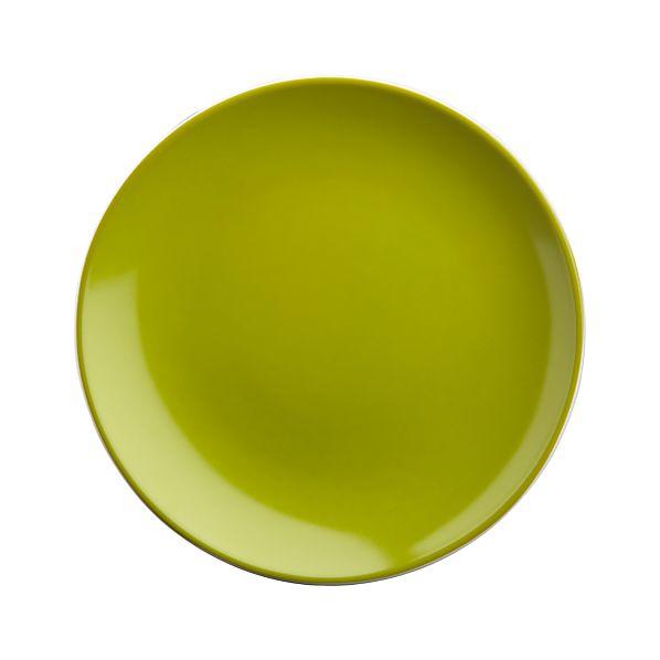 """Light Green 6.5"""" Appetizer Plate"""