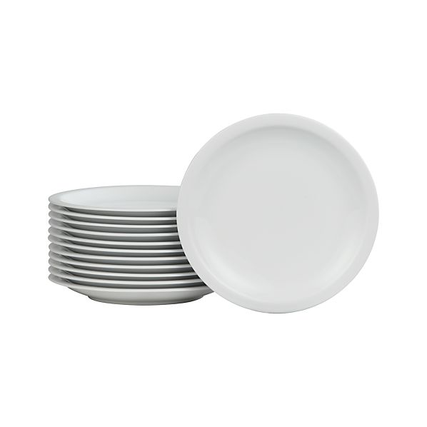 "Set of 12 Boxed 10.5"" Dinner Plates"
