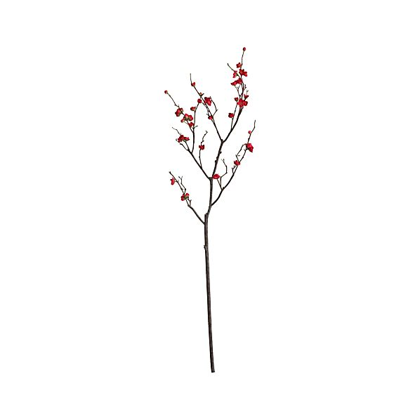 Plum Blossom Artificial Flower Stem