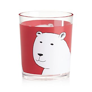 Polar Bear 14 oz. Acrylic Tumbler Glass