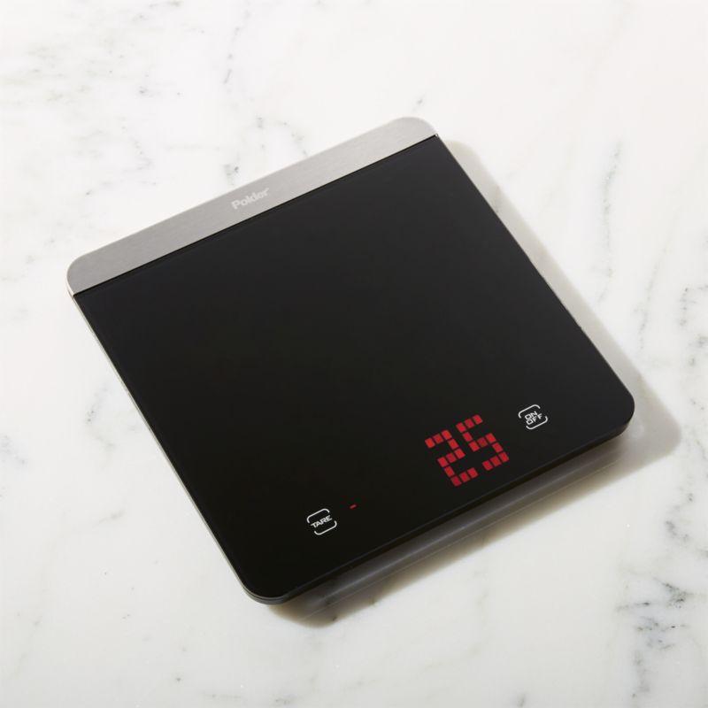 Polder ® Digital LED Kitchen Scale