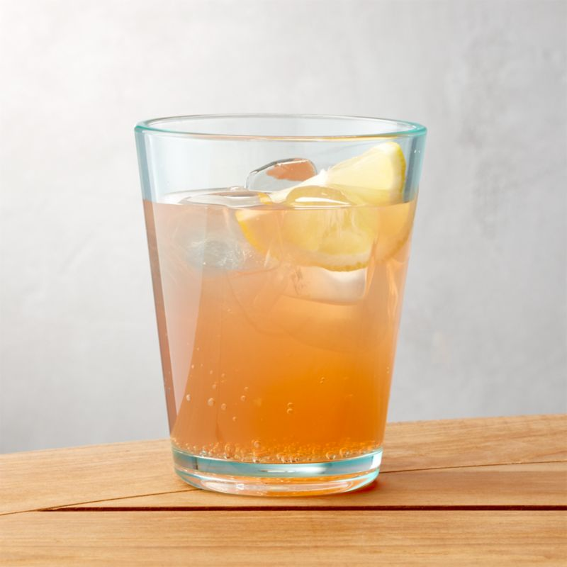 Pop Aqua Acrylic Drink Glass 15 Oz Crate And Barrel