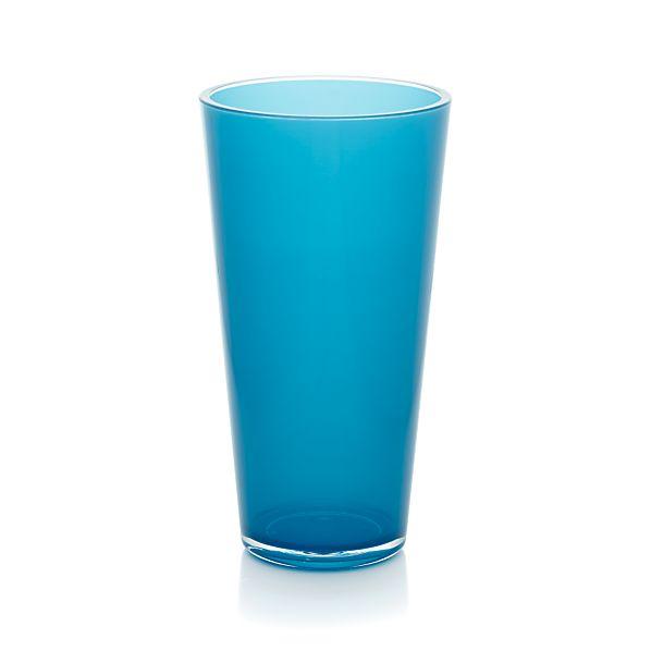 Pop Blue Acrylic 24 oz. Drink Glass