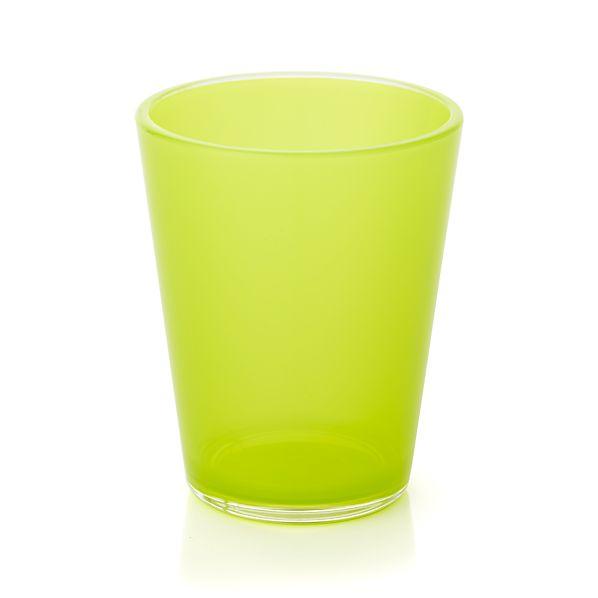 Pop Yellow Acrylic 15 oz. Drink Glass