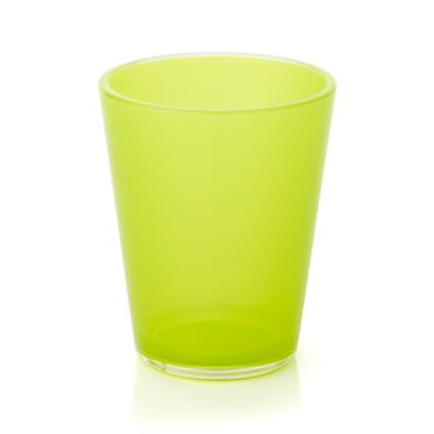 Pop Yellow Acrylic 15 oz. Drink Glass