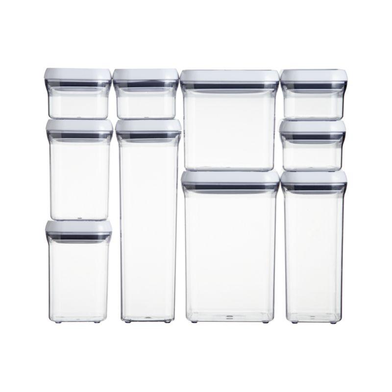 OXO ® 10-Piece Pop Container Set