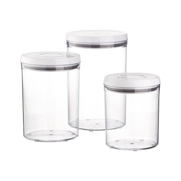 3-Piece OXO ® Pop Round Containers with Lids Set