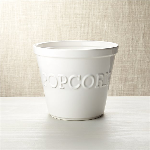 Large Popcorn Bowl Crate And Barrel