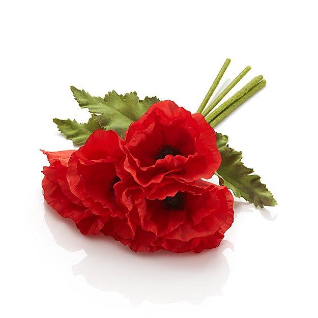 Poppy Artificial Flowers