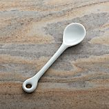 Porcelain Condiment Spoon