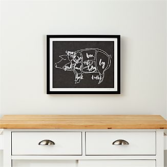 Pork Chart Print