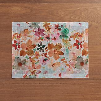 Posey Linen Placemat