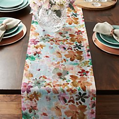 "Posey Linen 90"" Table Runner"