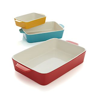 Set of 3 Potluck Baking Dishes