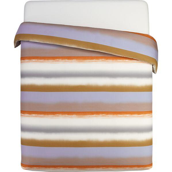 Marimekko Poukama Sandstone King Duvet Cover