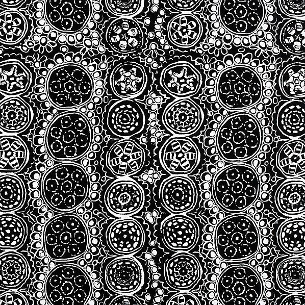 Marimekko Praliini Black and White Gift Wrap