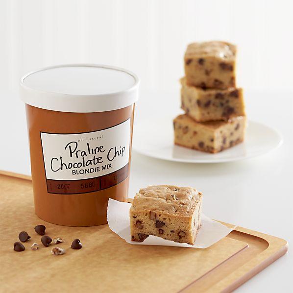 Praline Pecan Chocolate Chip Blondie Mix