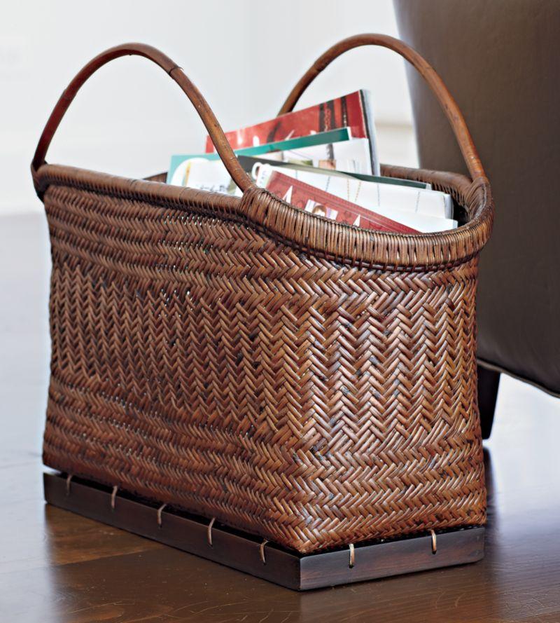 Pramana Magazine Basket