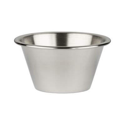 Stainless Steel Large Condiment-Prep Cup
