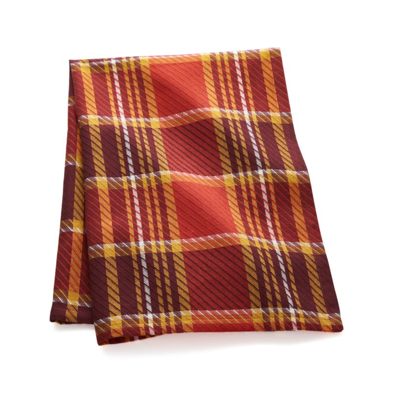 Prescott Plaid Dish Towel