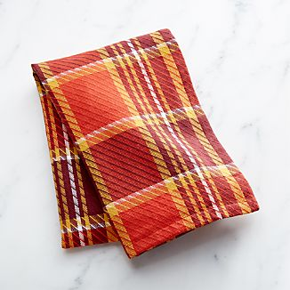 Prescott Plaid Dish Towel