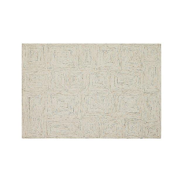 Presley Neutral Wool 4'x6' Rug