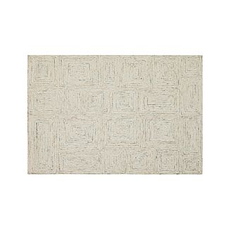 Presley Neutral Wool 4'x6' Rug