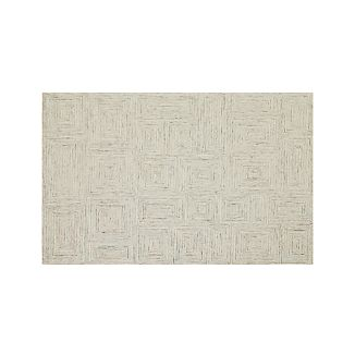 Presley Neutral Wool 5'x8' Rug