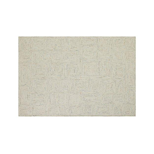 presley neutral wool 6 39 x9 39 rug crate and barrel. Black Bedroom Furniture Sets. Home Design Ideas