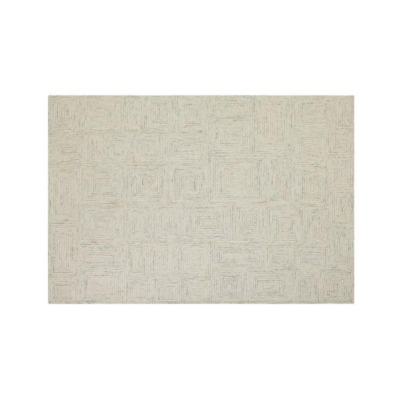 Presley Neutral Wool 6'x9' Rug