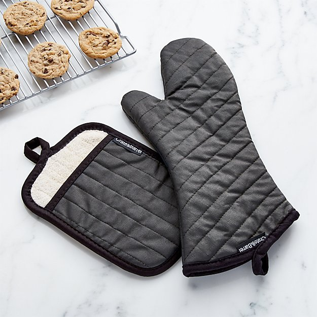 Professional Pot Holder And Oven Mitt Crate And Barrel